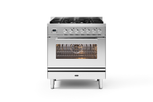 NEW: 80cm Roma 5 Burner Single Oven Dual Fuel Range Cooker