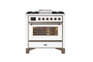 NEW: 90cm Majestic Milano Fry Top Dual Fuel Range Cooker