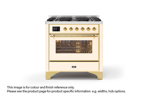 NEW: 100cm Majestic Milano Fry Top Double Oven Dual Fuel Range Cooker
