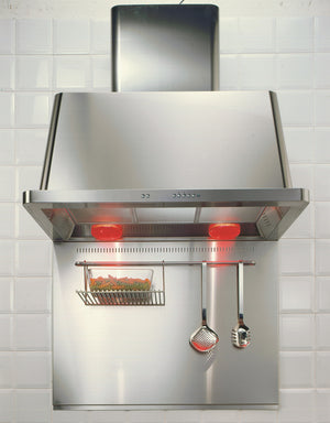 Majestic 90cm Hood Stainless Steel