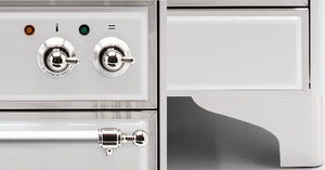 Majestic Milano 150cm Twin Dual Fuel Range Cooker Knobs