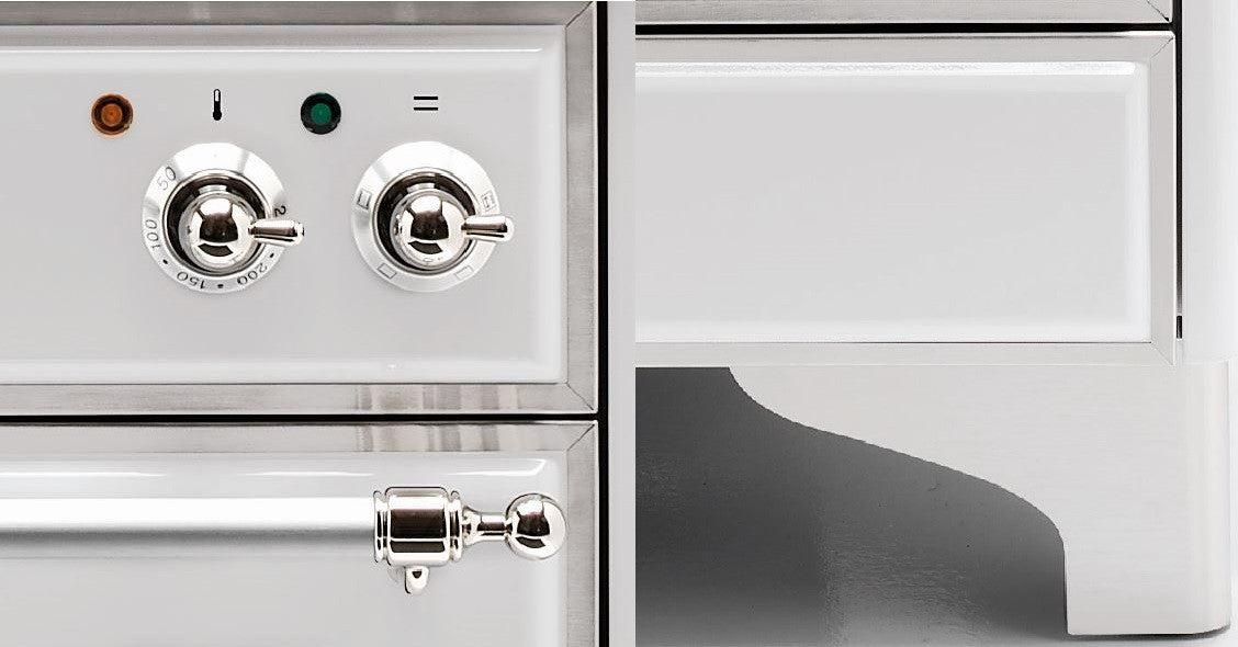 Majestic Milano 150cm Twin Gas Range Cooker Knobs