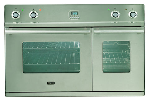 D900WE3 90cm Roma Twin Built-In Oven