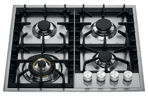 HP65C 60cm Roma Gas Hob - 4 Burners