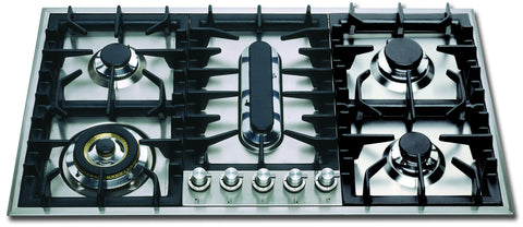 HP95PC 90cm Roma Gas Hob - 5 Burner Fish