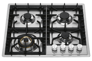 HPT65 60cm Roma Flush Gas Hob - 4 Burners