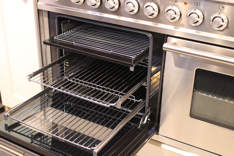 Pull-Out Telescopic Runners for Range Cookers