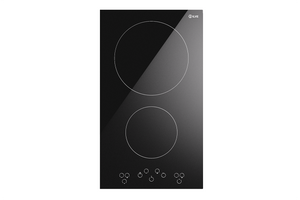 KHVI32TC 30cm Torino 2 Zone Induction Domino Hob
