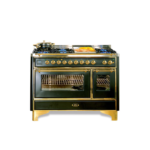 Majestic Milano 120cm 90 / 30 Twin Dual Fuel Range Cooker