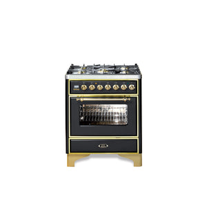 Majestic Milano 76cm Single Dual Fuel Range Cooker