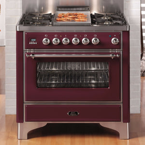 Majestic Milano 90cm Single Dual Fuel Range Cooker