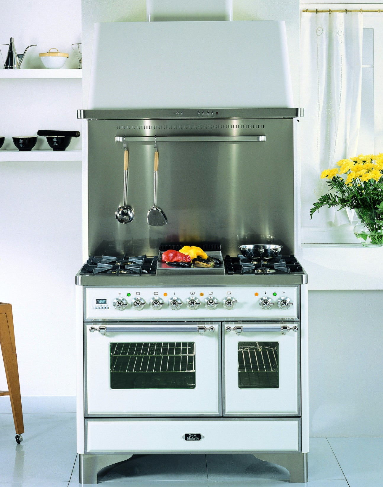 Majestic Milano 100cm Twin Gas Range Cooker