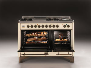 Majestic Milano 120cm 70 / 40 Twin Dual Fuel Range Cooker Oven