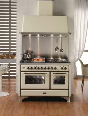 Majestic Milano 120cm 70 / 40 Twin Gas Range Cooker