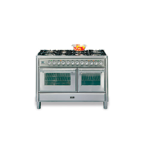 120cm 70 / 40 Twin Dual Fuel Range Cooker