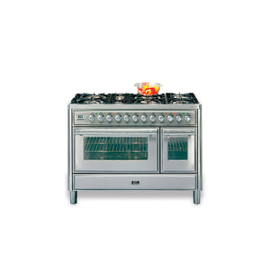 120cm 90 / 30 Twin Dual Fuel Range Cooker