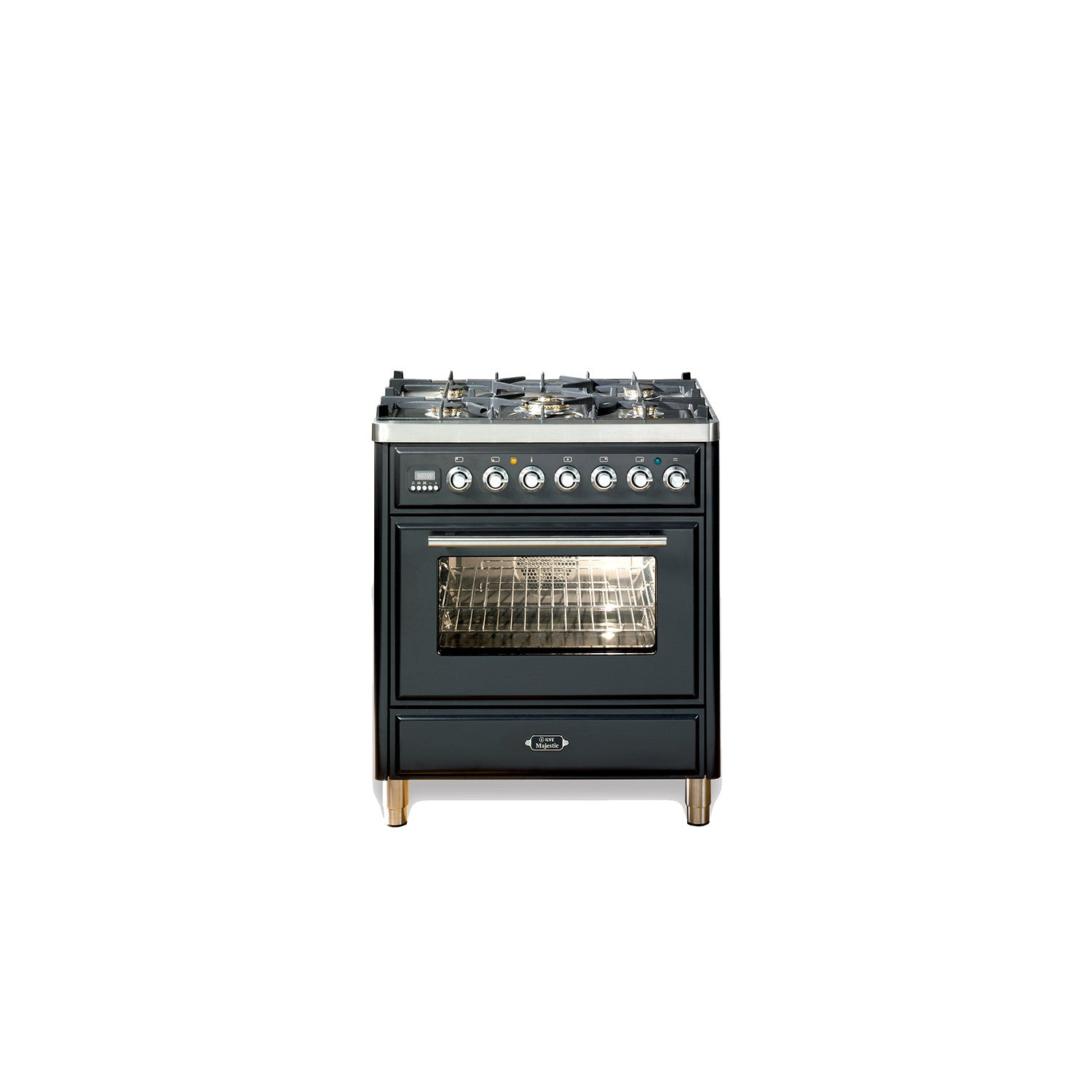 Majestic Roma 76cm Single Dual Fuel Range Cooker