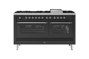 NEW: 150cm Milano Fry Top Dual Fuel Range Cooker