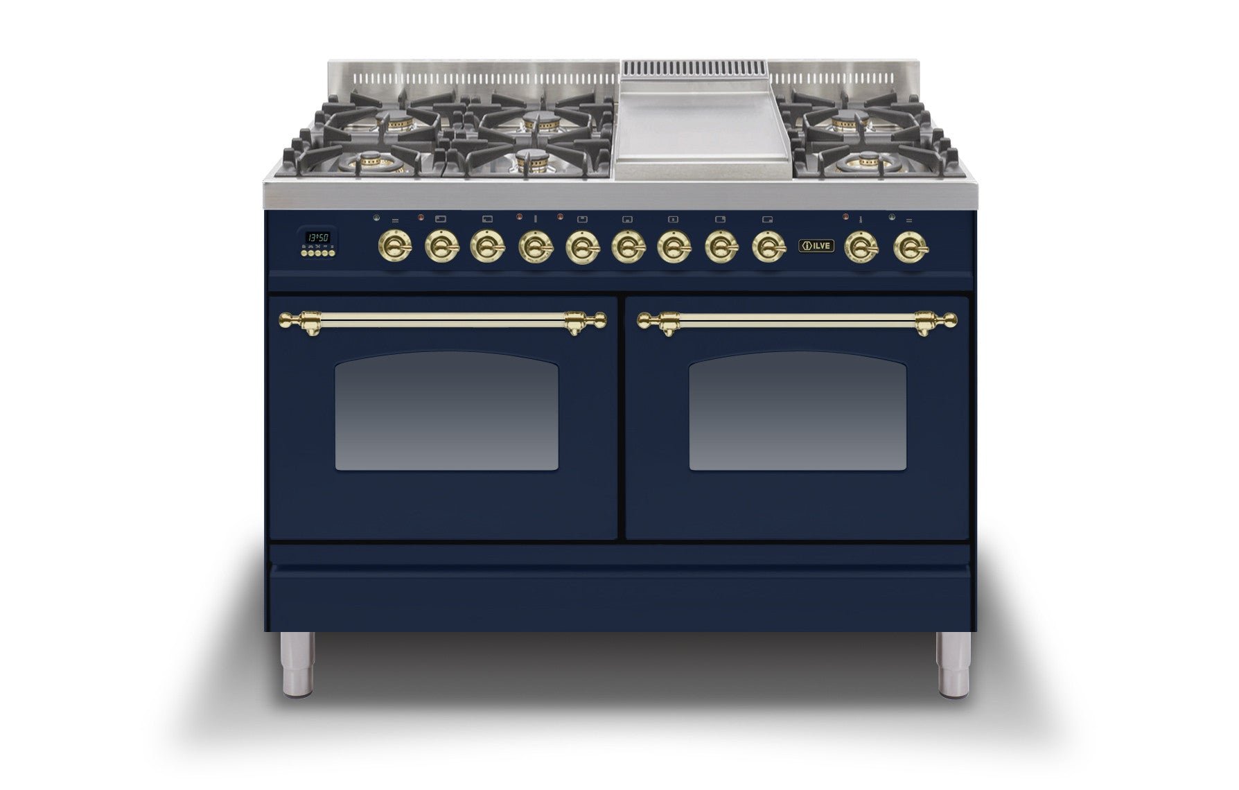 120cm 60/60 Dual Fuel Range Cooker Blue