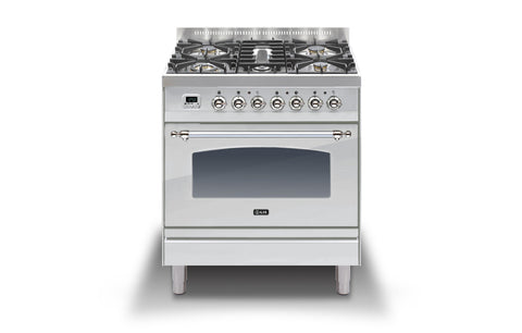 Milano 80 Single DF Stainless Steel