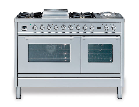 Roma 120cm 70/40 Twin Dual Fuel Range Cooker