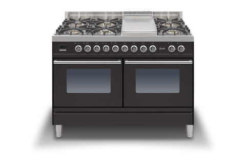Roma 120cm 60/60 Twin Dual Fuel Range Cooker