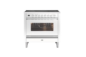 NEW: 90cm Roma Induction Single Oven Electric Range Cooker