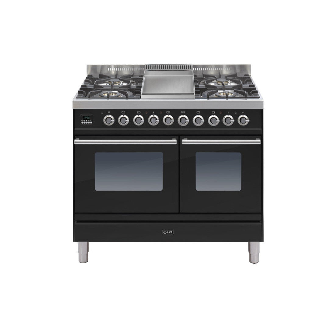 Roma 100cm Twin Dual Fuel Range Cooker