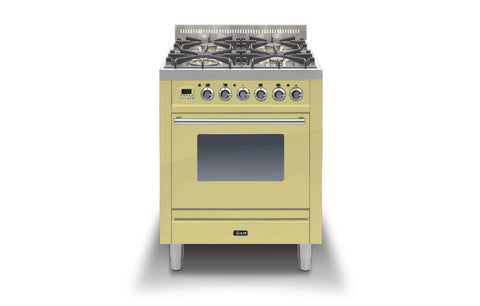 Roma 70cm Single Gas 4 Burner Range Cooker