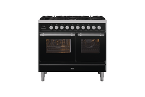 NEW: 100cm Roma 6 Burners Double Oven Dual Fuel Range Cooker