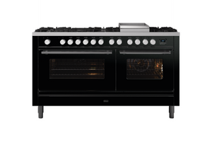 NEW: 150cm Roma Fry Top Dual Fuel Range Cooker