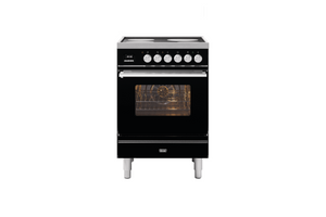 NEW: 60cm Roma 4 Zone Induction Dual Fuel Range Cooker