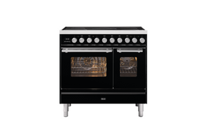 NEW: 90cm Roma Induction Double Oven Electric Range Cooker