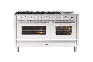 NEW: 150cm Roma 7 Gas Burners and Coup De Feu Dual Fuel Range Cooker