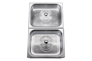 Stainless Steel Steam Basin