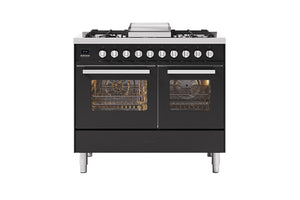 NEW: 100cm Torino Twin Oven Dual Fuel Range Cooker
