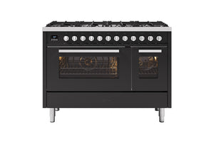 NEW: 120cm Torino Twin Oven Dual Fuel Range Cooker