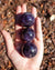 Set of 3 Amethyst Spheres
