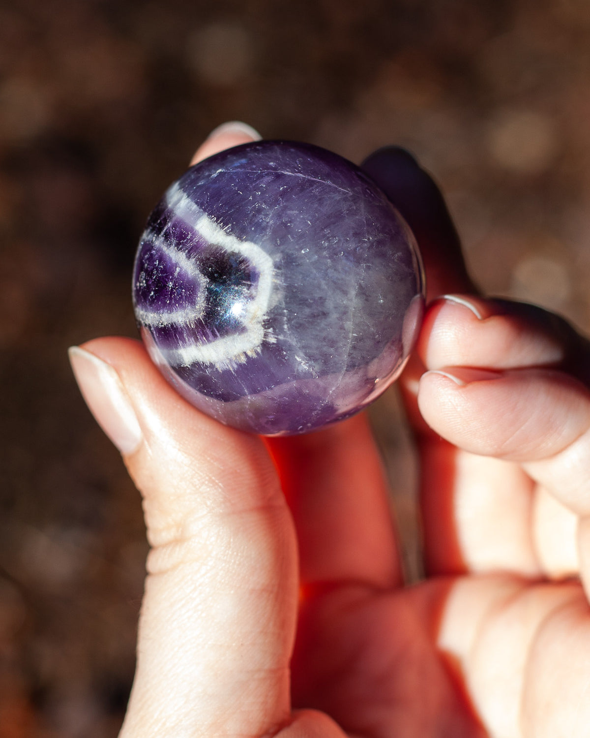 All Seeing Amethyst Sphere