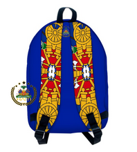 "Load image into Gallery viewer, Coat Of Arm Straps  ""Valiz Lekol"""