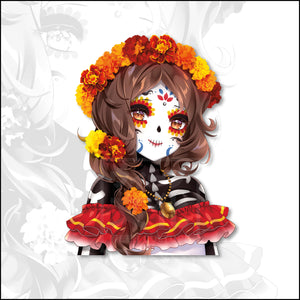 Limited Edition - Day of the Dead Ruby Body Peeker