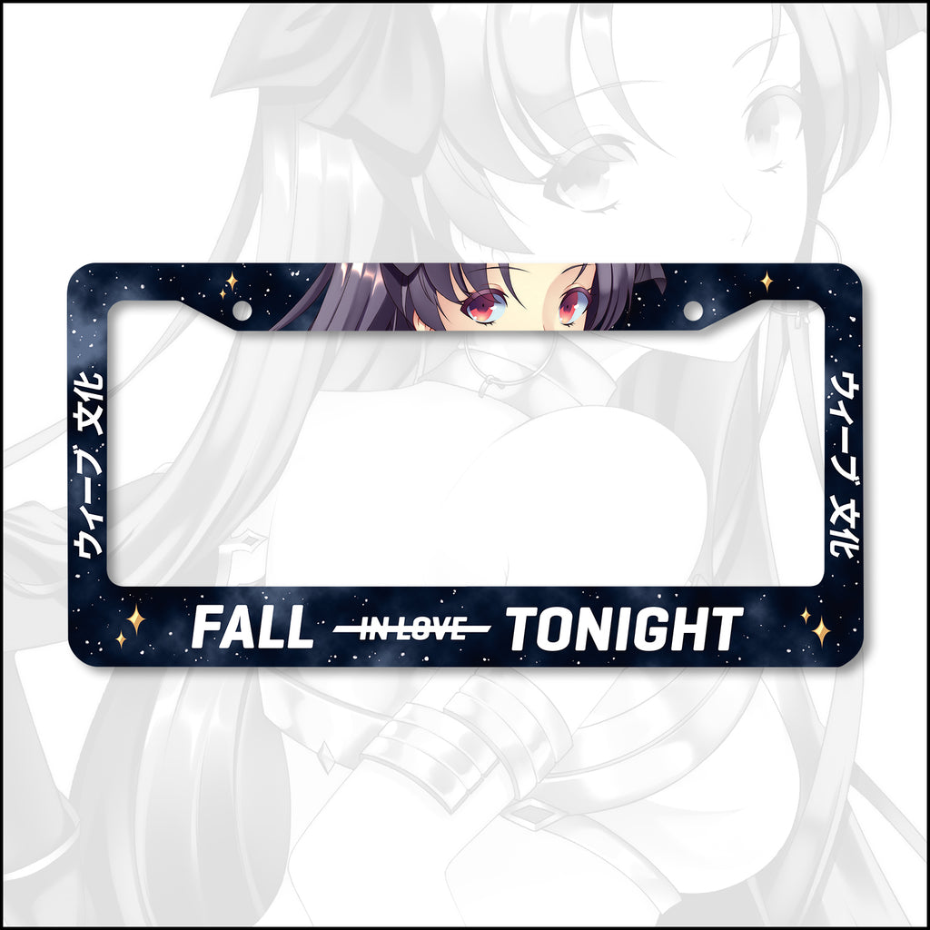 Ishtar Fall in Love Tonight License Plate Frame