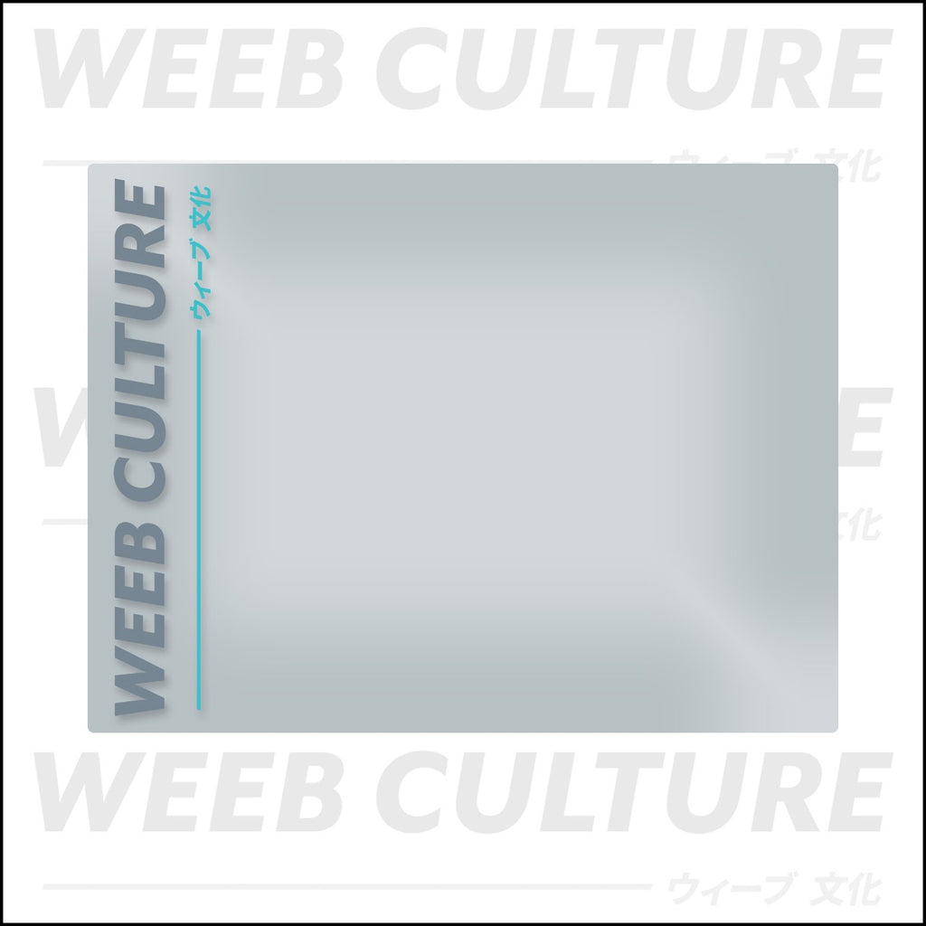 Official Weeb Culture Car Banner V1