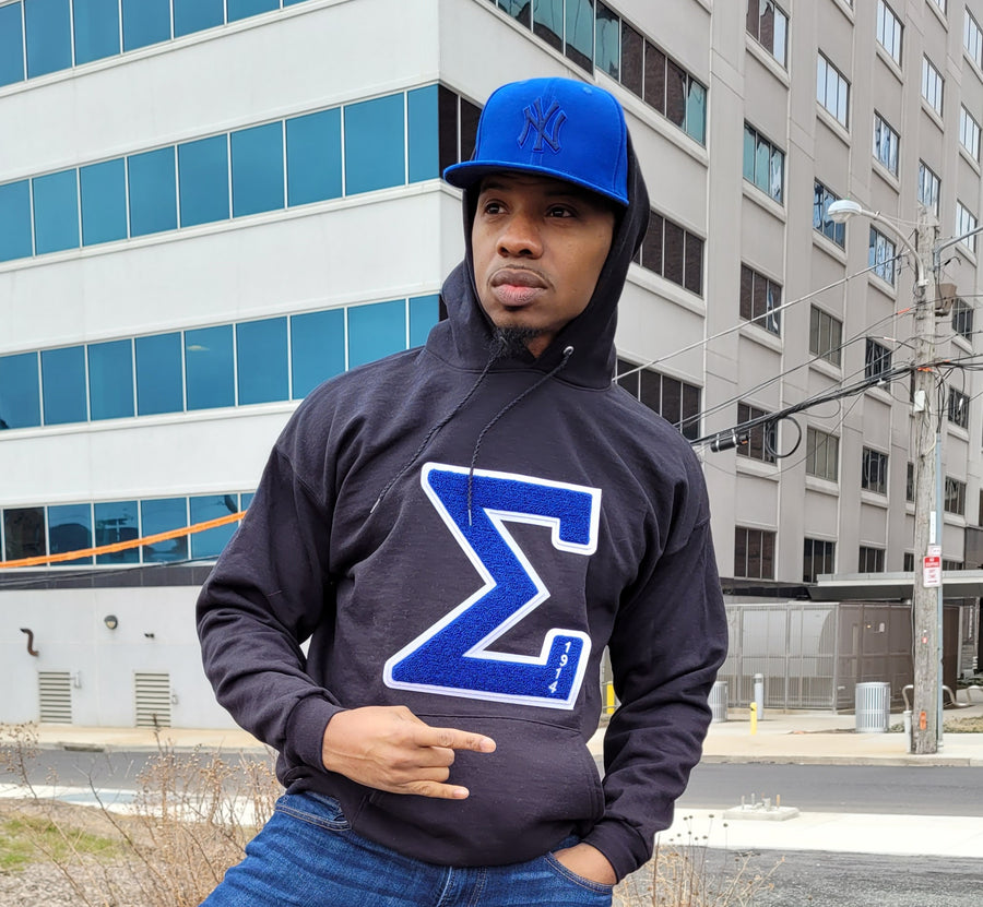Sigma Chenille Hoodie
