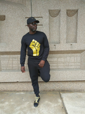 Black & Gold Black Power Collection
