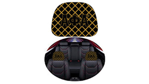 NEW Alpha Checkered Seat Covers