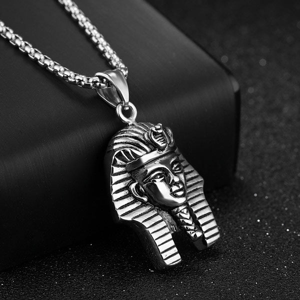 Pharaoh Necklace (Silver & Gold-tone)