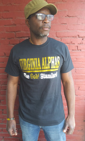 "Virginia Alphas""The Gold Standard"" Tee"
