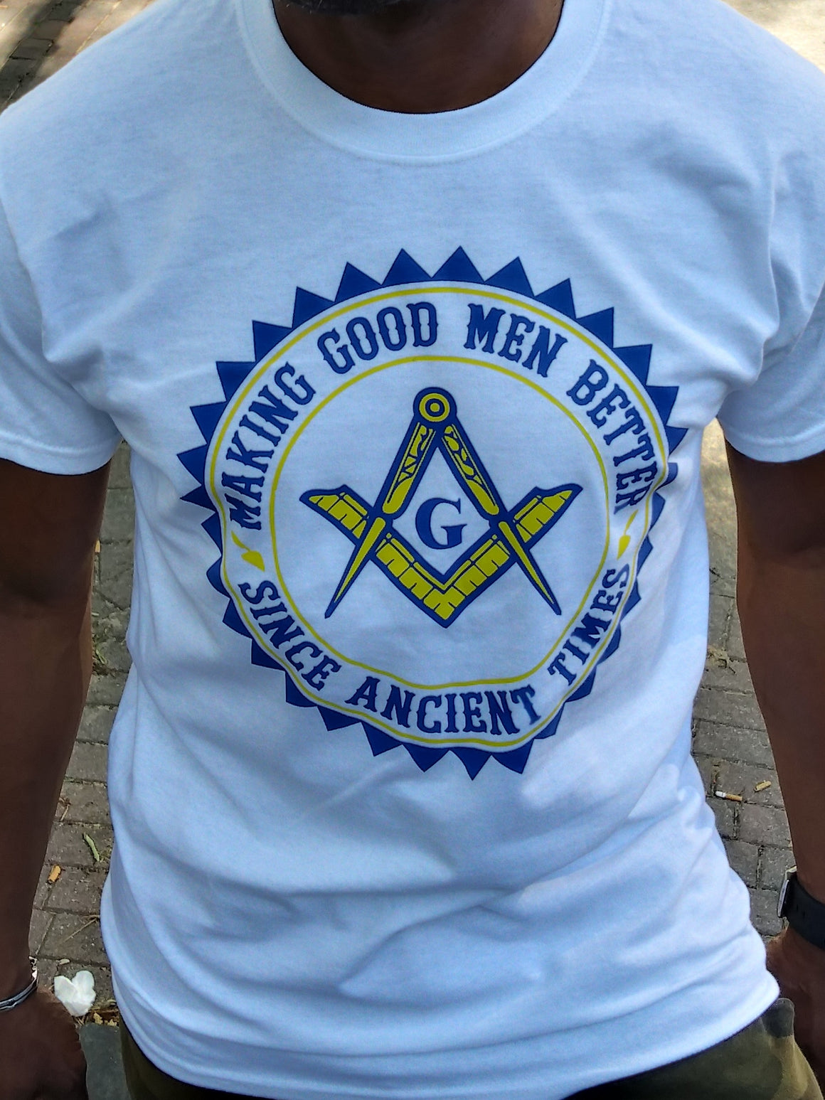 Making Good Men Better Mason Tee