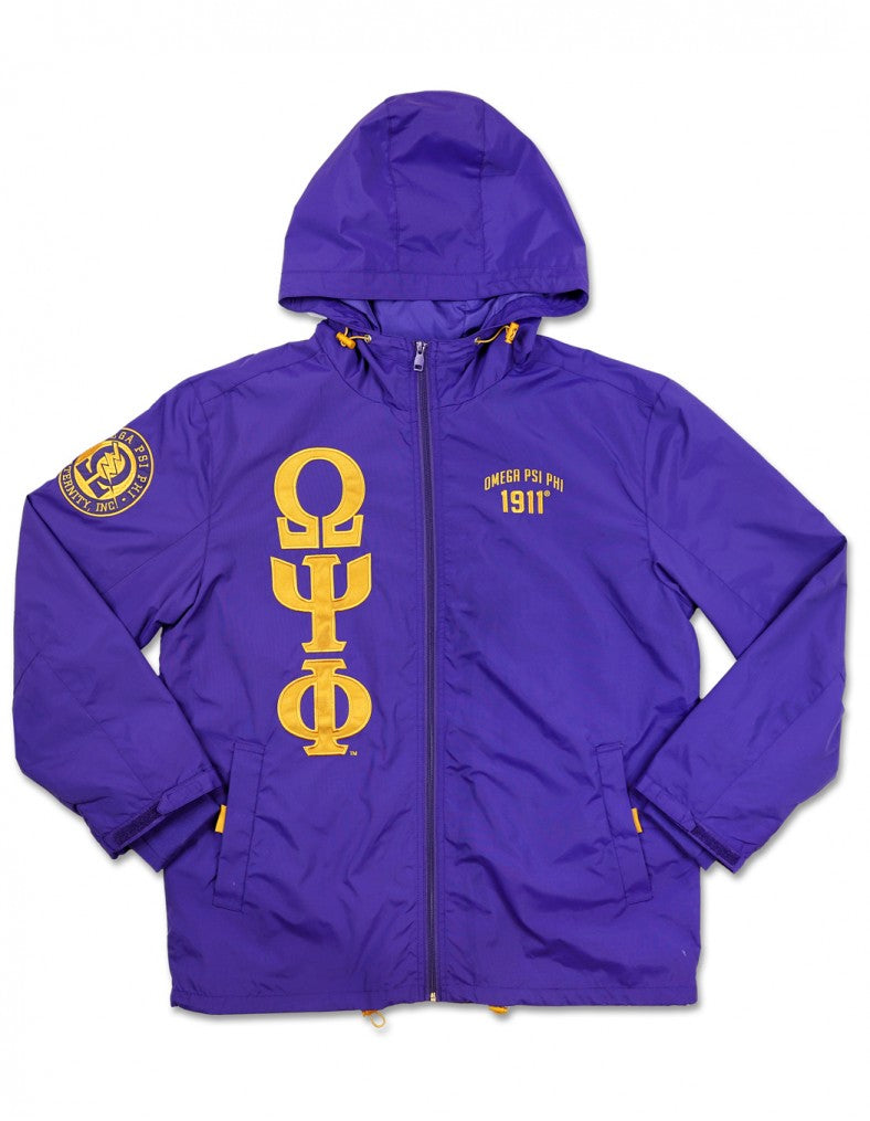 New Omega Windbreaker.